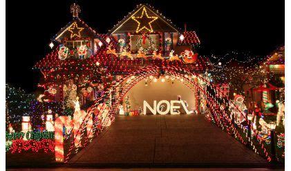 best christmas decor houses edmonton d 233 co jardin pour noel exemples d am 233 nagements