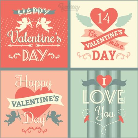 happy valentines day cards free happy valentines day cards free vector in adobe