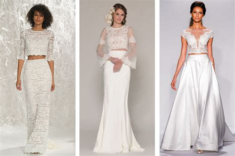 Top Wedding Dresses by Top Wedding Dress Trends At New York Bridal Fashion Week