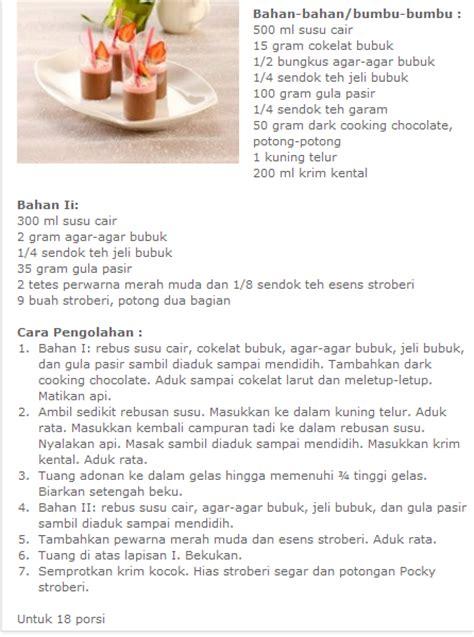cara membuat puding pisang coklat cara membuat puding coklat lengkap resep
