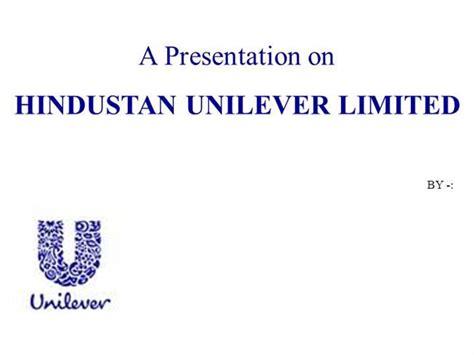 55485715 Hul Ppt Authorstream Unilever Ppt Template Free