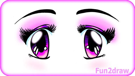 cute easy manga how to draw beautiful eyes manga