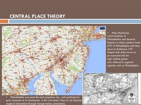 A Place Theory Regional Interaction The City Of Brotherly Re Defined