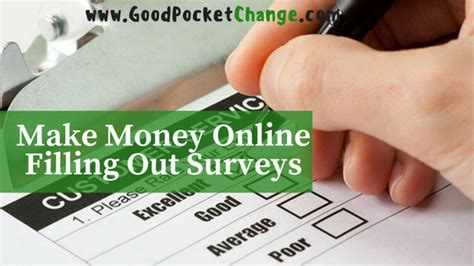 Earn Money By Filling Surveys - home good pocket change