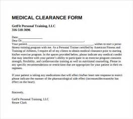 clearance for surgery template clearance form 9 free documents in pdf