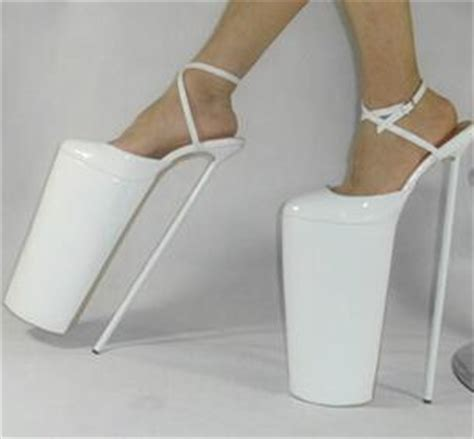 extremely high heels extremely high 40cm 16 heels and 28cm 11 high platform