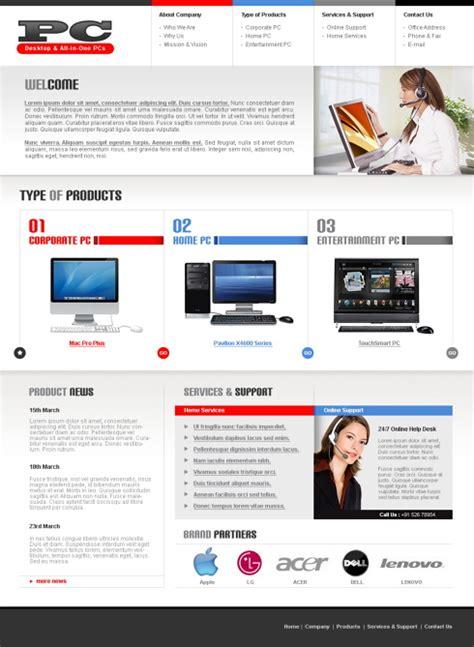 templates for electronics website electronics shop html template 5690 electronics