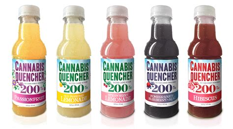 weed drinks cannabis quencher edibles map