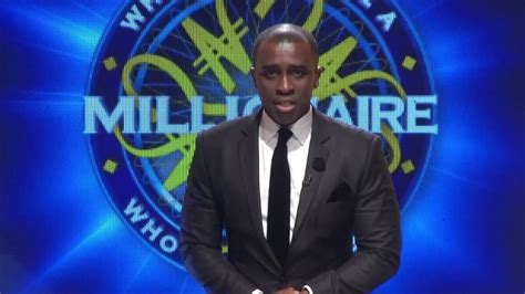 the millionaire see what frank edoho former who wants to be a