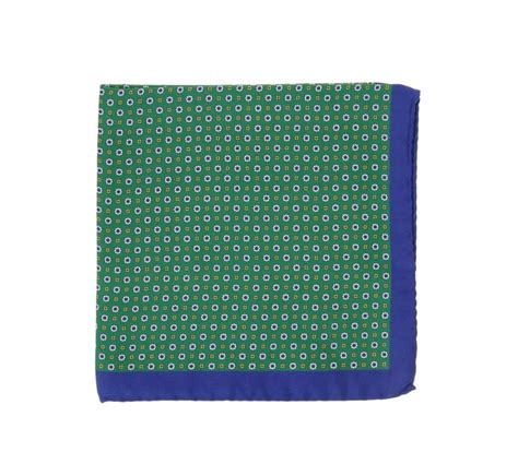yellow pattern pocket square green pocket square with blue qnd yellow pattern and dark