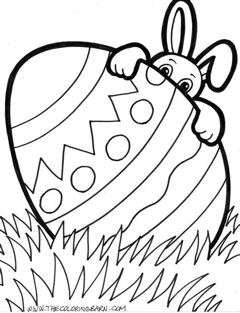 Easter Coloring Pictures by Easter Bunny Pictures To Color
