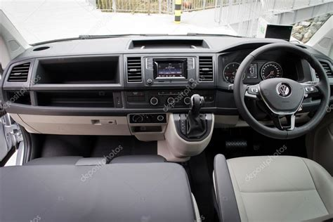 volkswagen 2016 interior volkswagen transporter 2016 interior stock editorial