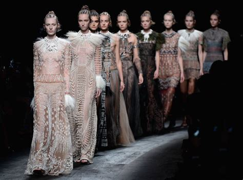 Fashion Week Fashion East by Valentino Uses Almost All White Models For Africa Themed