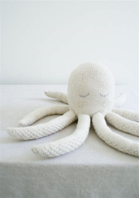 knitted octopus knit octopus purl soho