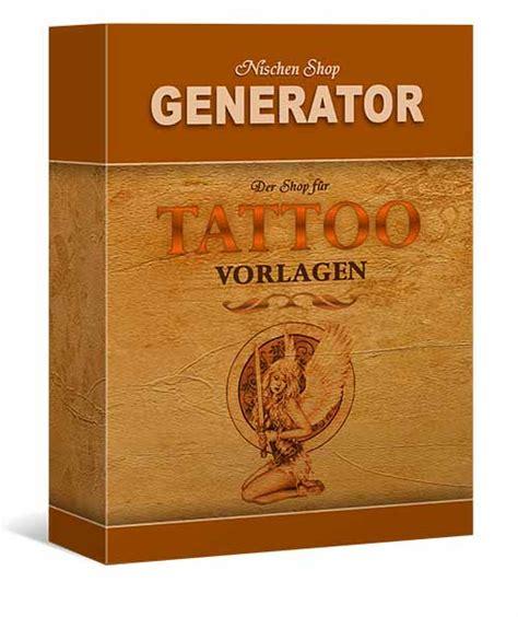 tattoo vorlagen generator software generatoren24 tatoo vorlagen shop generator