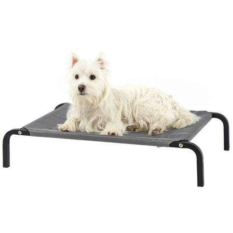 elevated pet bed bunty elevated dog bed portable waterproof outdoor raised cing pet basket ebay