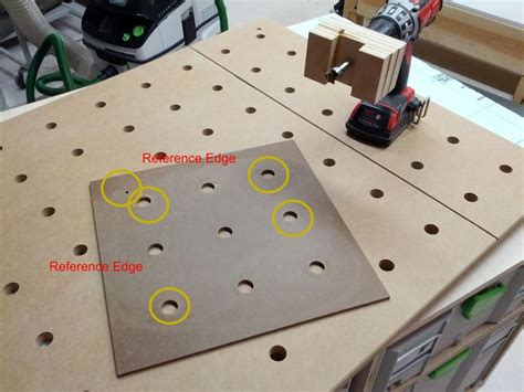 Festool Mft Top Template Idea For Mft Hole Drilling Template Woodworkers Dream Pinterest Tools Ideas And Templates