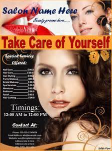 free hair salon flyer templates salon flyer best word templates
