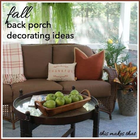 back porch decorating ideas burlap wrapped pots domestically speaking