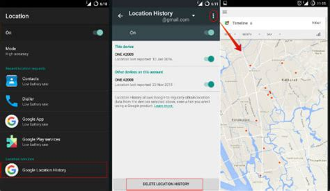 android location services you never knew that android phone keeps a record of all locations you visited 187 technical tips