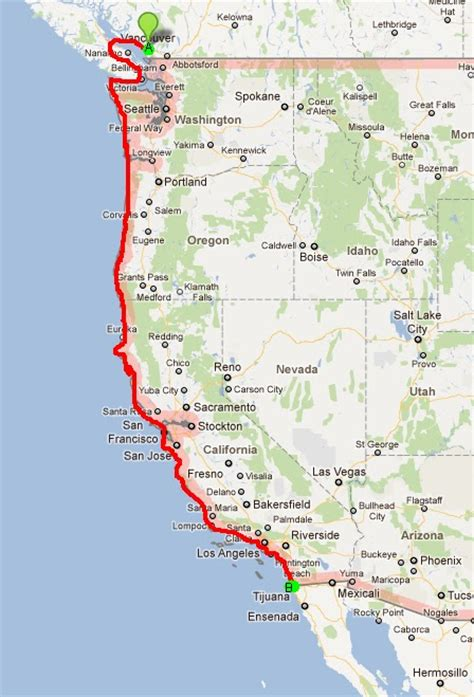 Map Of Pch - pacific coast raise money and the o jays on pinterest