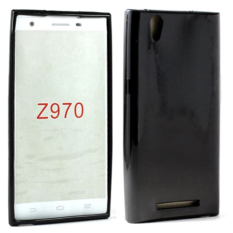 Soft Silikon Coolpad Max wholesale zte zmax z970 soft tpu gel black