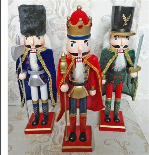 cheap nutcracker soldiers crafts gifts european patch 38cm nutcracker soldiers puppet furniture