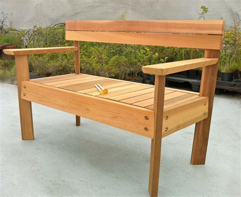 outdoor cedar bench 15 creative benches and cool bench designs