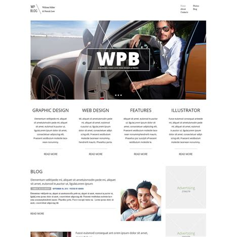 wordpress themes facebook integration personal design integration wordpress theme unlimited stock