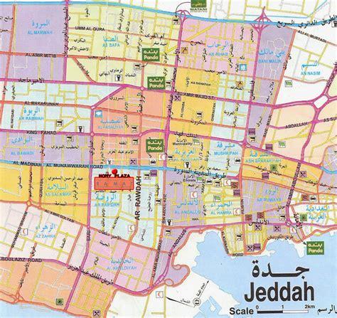 printable maps city jeddah city maps free printable maps