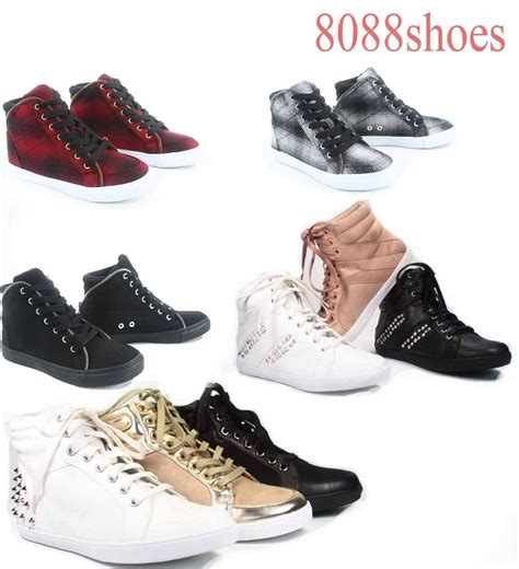 Fashion Shoes Import 5 s flat high top soda lace up fashion sneaker shoes size 5 5 10 new ebay