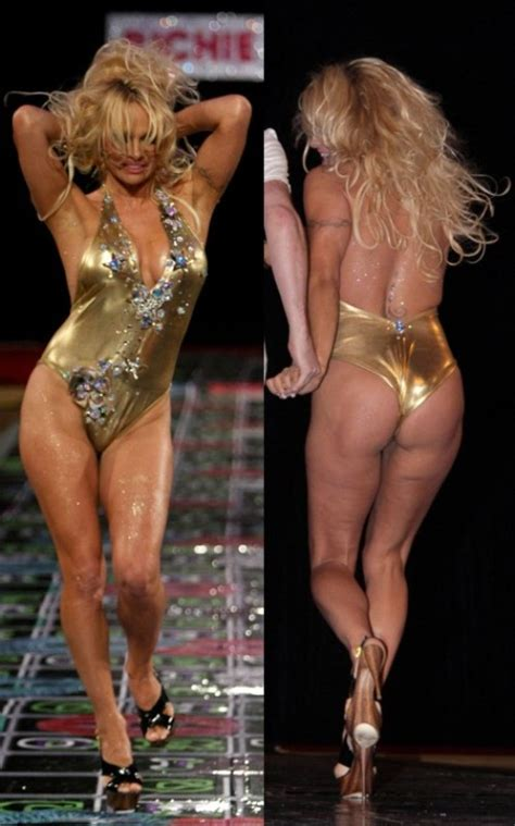 Are Pam And Back On by In A Gold Bathing Suit