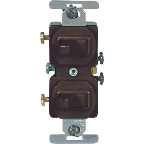 The Switch Brown westinghouse brown feed through on switch 7050600 the home depot