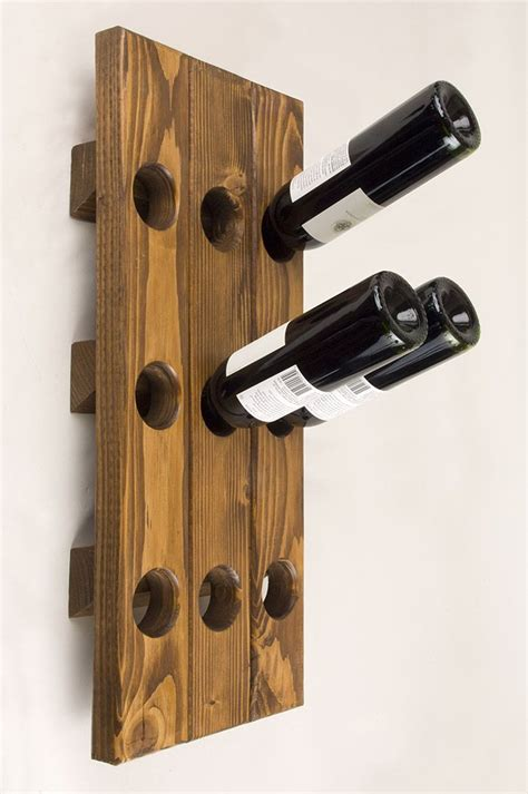 pattern for wood wine rack craft a one of a kind wine rack using rust oleum wood