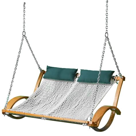 swinging hammocks the pawleys island hammock swing hammacher schlemmer