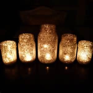 Diy glitter starry night candles decoration decor wedding reception 201 bride magazine puck