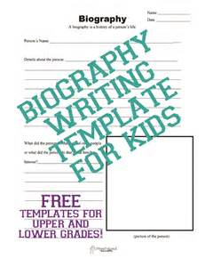 biography template for students writing squarehead teachers page 5