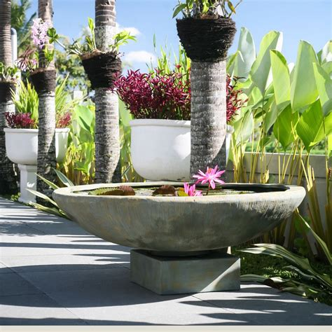 planters inspiring large outdoor bowl planters