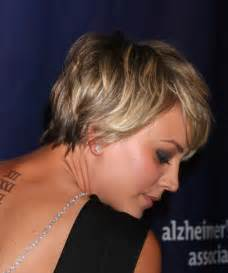 how to get kaley cuoco haircut kaley cuoco short straight casual hairstyle dark blonde