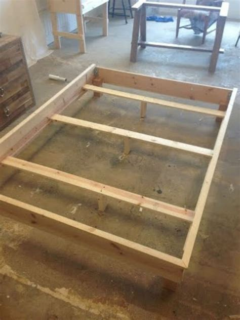 How To Make Wooden Bed Frame How To Build A Headboard And Bed Frame Diy Projects Craft Ideas How To S For Home Decor With