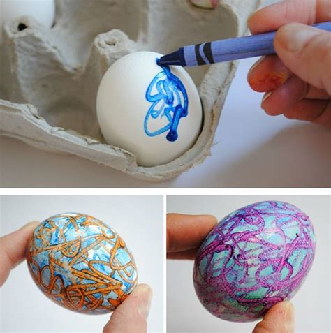 crayon freckles resurrection eggs the easter story for melted crayon easter eggs bored panda