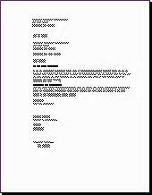 Business Letter Format Left Justified Jan S Word Autotools Letters