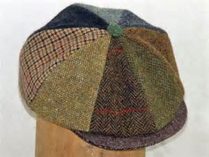 Patchwork Newsboy Cap - patchwork tweed newsboy cap