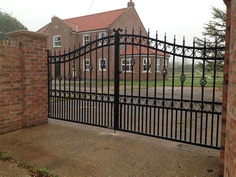 wrought iron gate iron gates manufactured and installed in hull