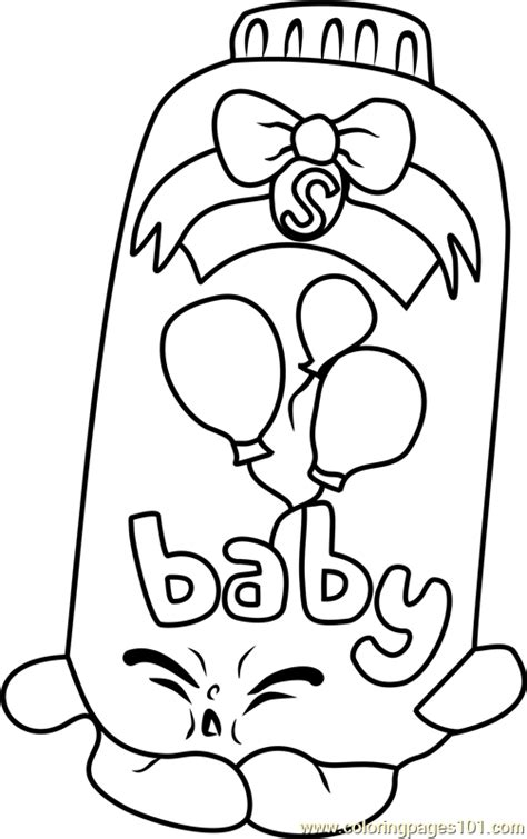 coloring pages of baby shopkins baby puff shopkins coloring page free shopkins coloring