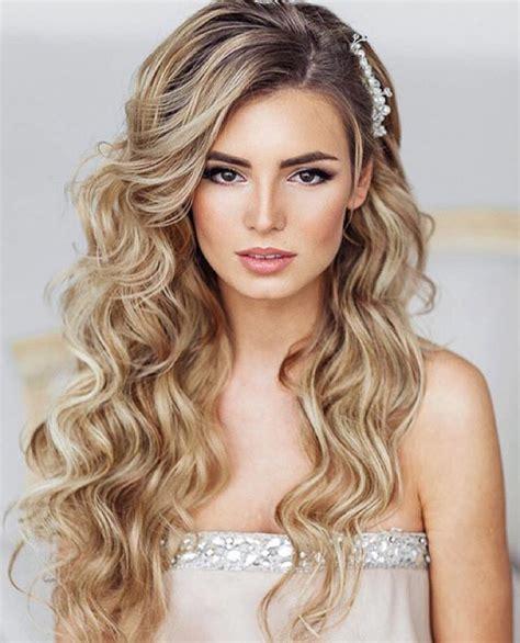 soft wedding curls quot hair down wedding hairstyles