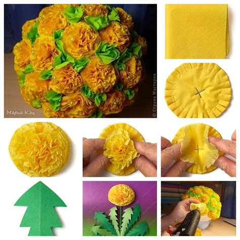 Box Tissue Flower 3d wonderful diy swirly paper flowers