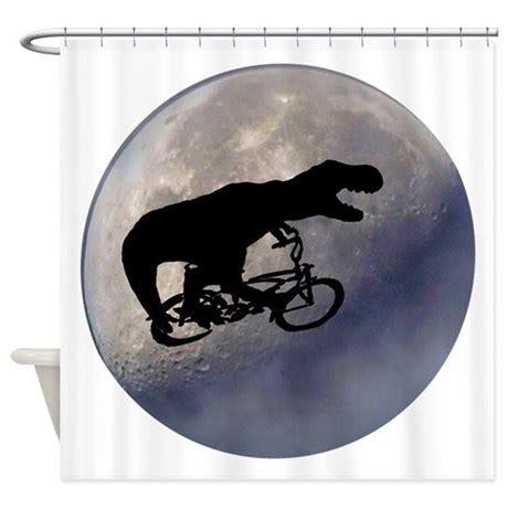 moon shower curtain t rex vintage moon shower curtain by dmsdesignshop