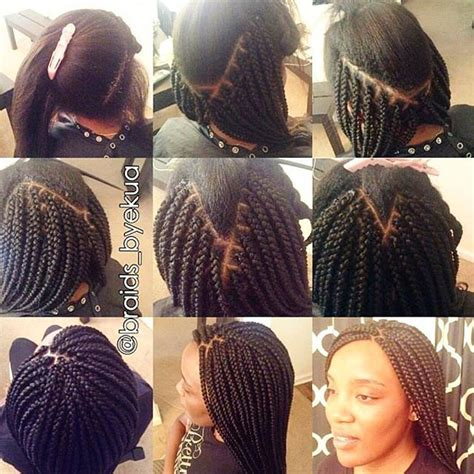 how to make box braids look wavy 10 best images about cornrows on pinterest protective