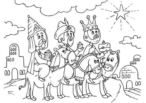 imagenes los reyes magos para colorear dibujos de enero imagui